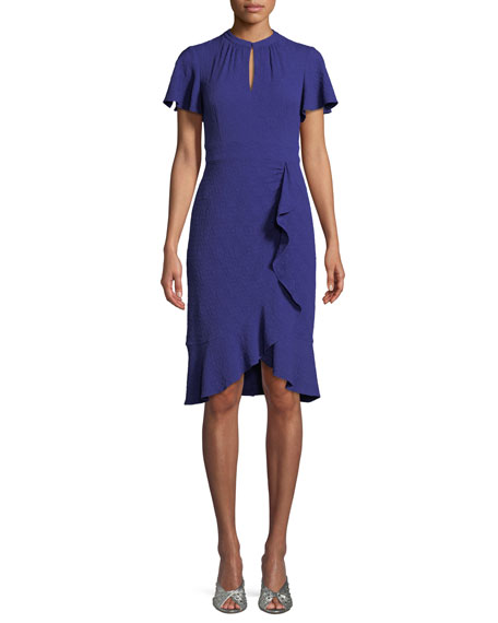 Nanette Lepore Second Act Ruffle Shift Dress