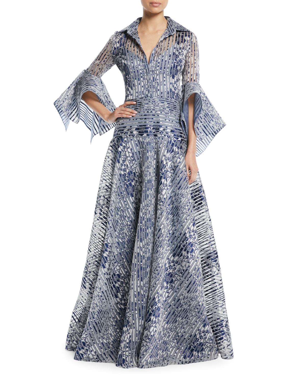 Navy Gown   Neiman Marcus