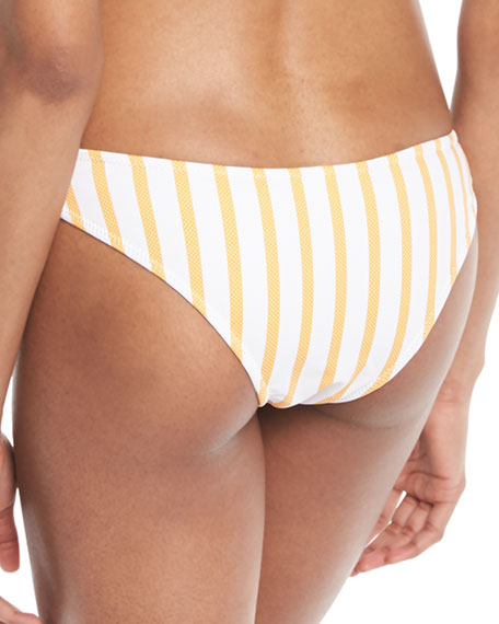 Kali Striped Hipster Swim Bikini Bottoms