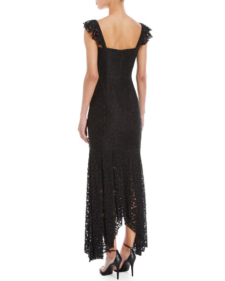 Melissa Stretch Lace Sweetheart Gown