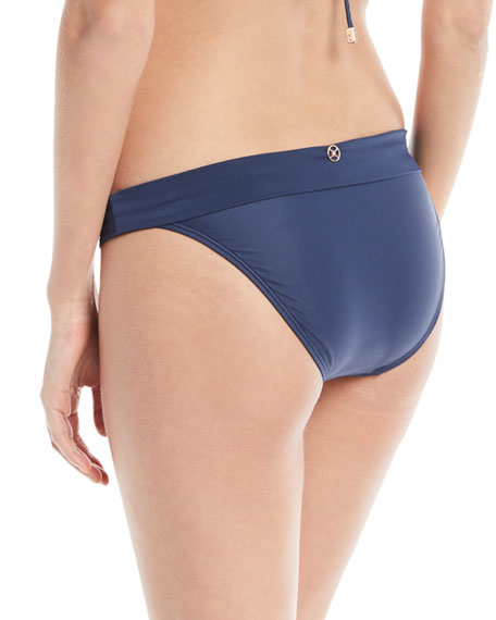 Midnight Bia Full Solid Swim Bottoms
