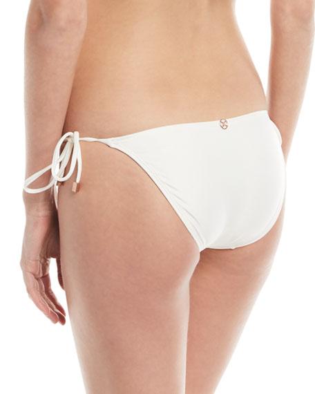 Wave Tie-Side Swim Bikini Bottom