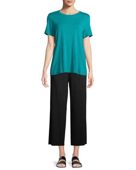 Short-Sleeve Lightweight Jersey Top