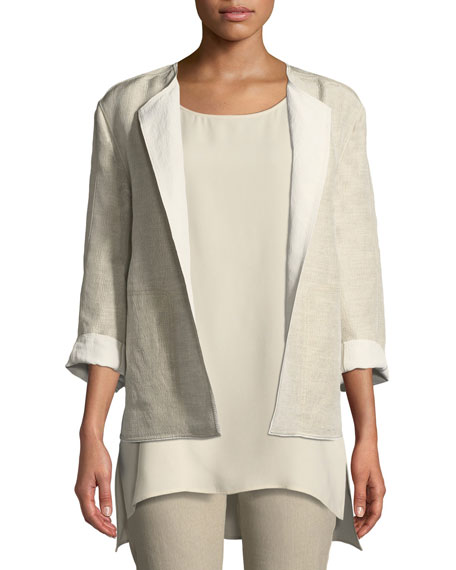 Lafayette 148 New York Milo Nebulous Textured Jacket