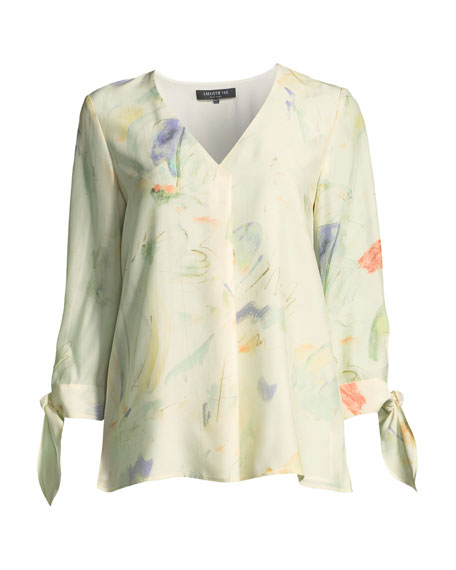 Blair Modern Muse on Silk Blouse