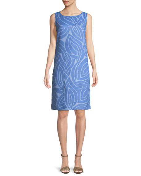 Farah Sleeveless Linen Dress