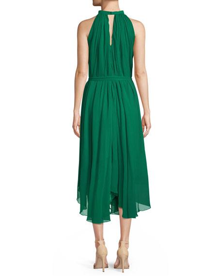 Iris Sleeveless Halter A-Line Dress