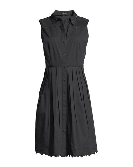 Samiyah Poplin Sleeveless Dress