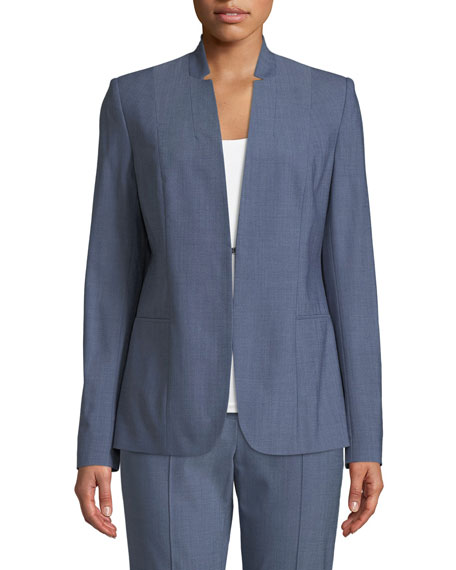 Elie Tahari Tori Wool-Blend Jacket and Matching Items
