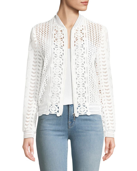 Elie Tahari Brandy Long-Sleeve Jacket