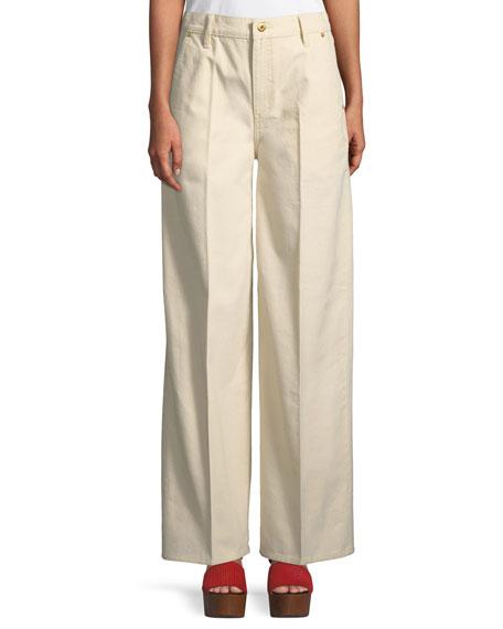 Caroline Wide-Leg Jeans