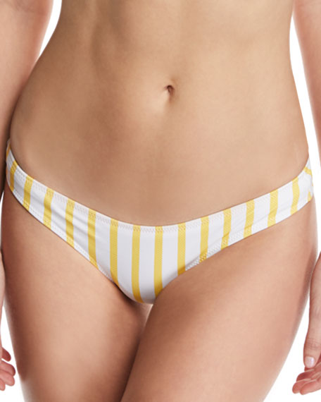 Kali Striped Bikini Swim Bikini Bottoms