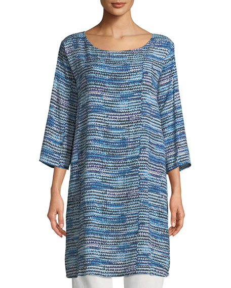 Gerlinda 3/4-Sleeve Tunic Dress