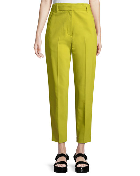 3.1 Phillip Lim Double-Waistband Tailored Tapered Pants