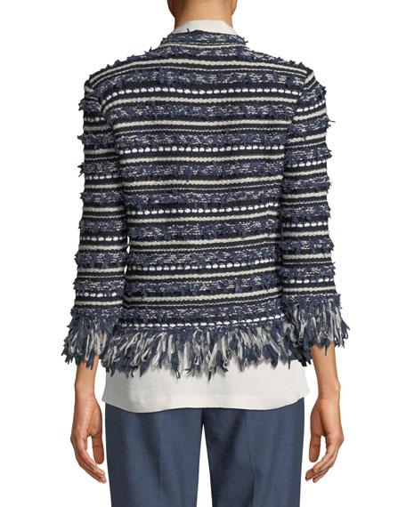 Lofty Floats Knit 3/4-Sleeve Jacket