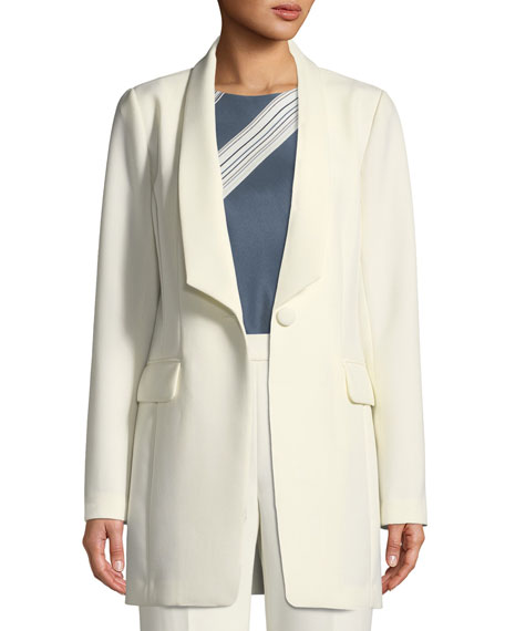 St. John Collection Bella Double Weave Jacket w/