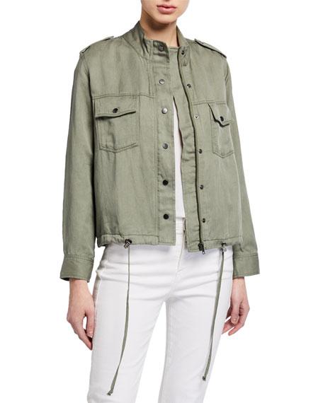 Rails Collins Zip-Front Utility Jacket