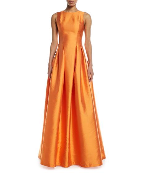 Sachin & Babi Marmara Taffeta Sleeveless Ball Gown