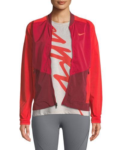 Stadium Zip-Front Running Jacket