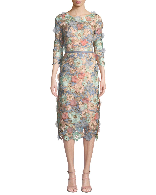 Floral Cocktail Dress | Neiman Marcus