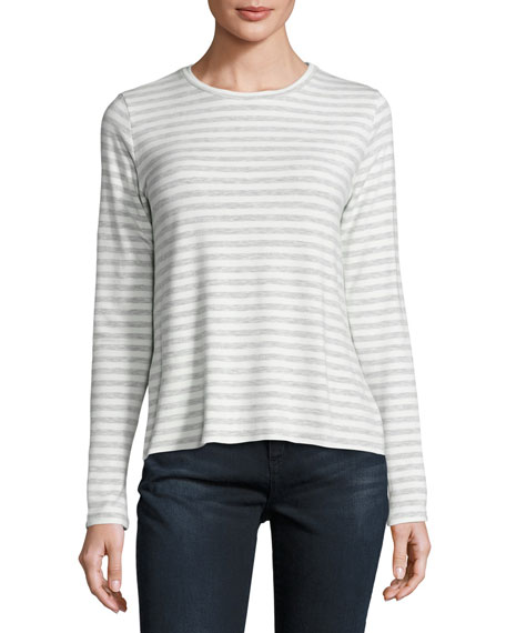 Majestic Paris for Neiman Marcus Long-Sleeve Striped French