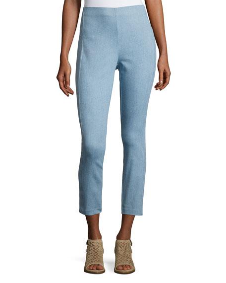 Simone Cropped Denim Pants