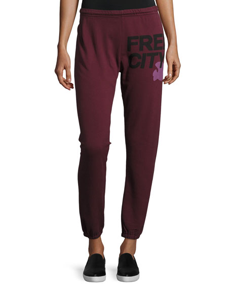 FREECITY Logo Featherweight Sweatpants