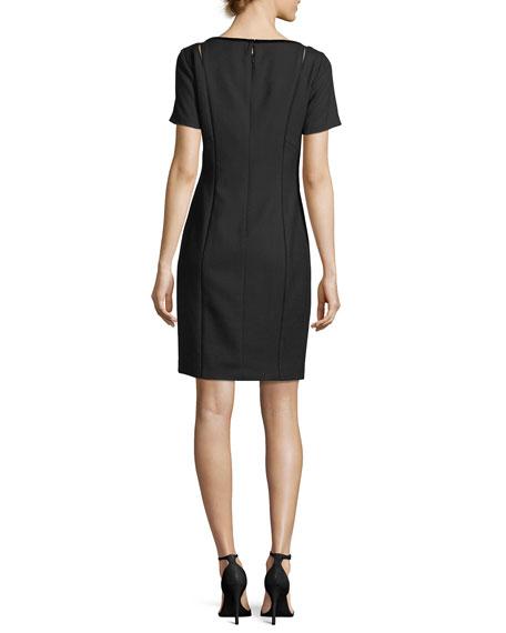 Jonas Cutout Short-Sleeve Dress