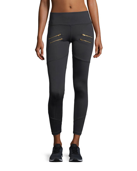 Varley Palms Full-Length Performance Leggings w/ Zips