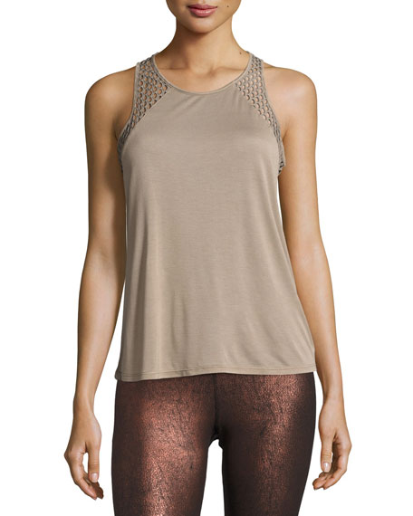 Alo Yoga Cage Open-Back Performance Tank Top