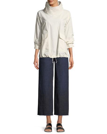 Organic Cotton/Nylon Pullover Jacket