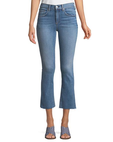 Hana Flared Ankle Jeans