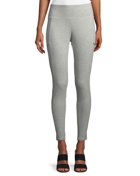 Skinny Stretch Jersey Ankle Pants, Plus Size