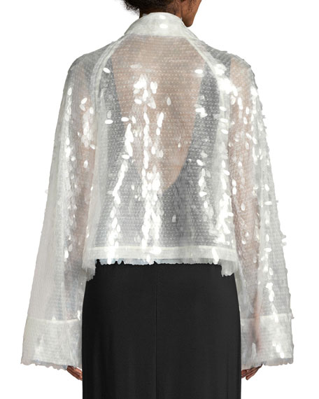 All Over Sequin Short Jacket