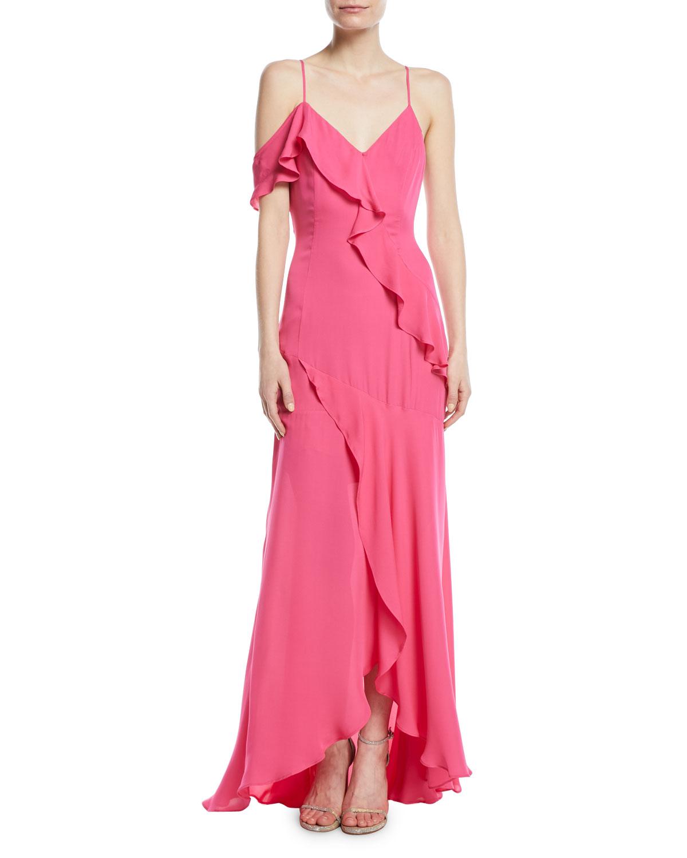 High Low Hem Gown | Neiman Marcus