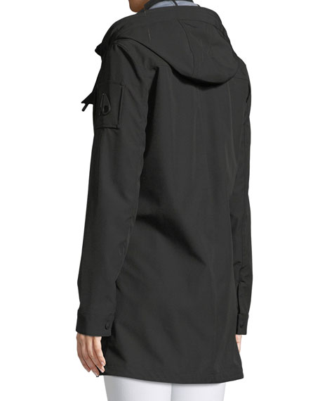 La Maurice Anorak Jacket w/ Removable Hood