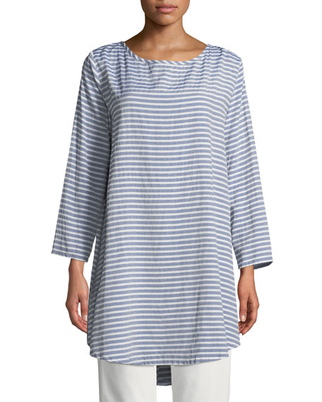 Gelma Striped Tunic