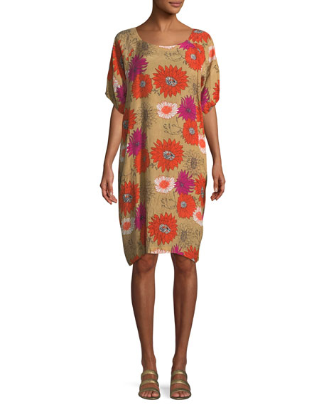 Masai Nene Retro Flower Printed Dress