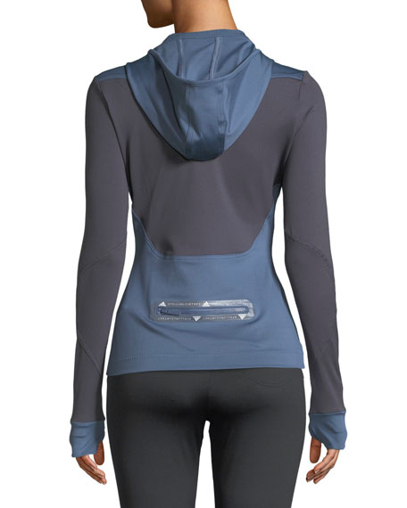 Run Hooded Long-Sleeve Performance Top