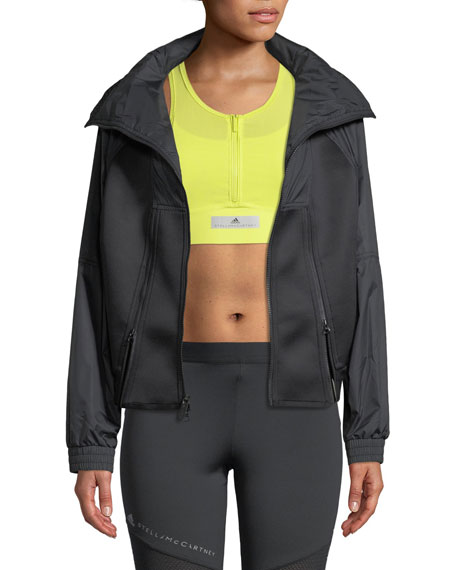 adidas by Stella McCartney Zip-Front Training Jacket