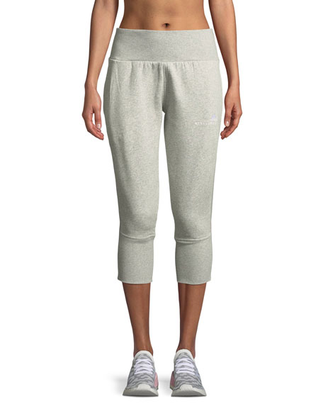 adidas by Stella McCartney Essentials High-Waist 3/4 Sweatpants