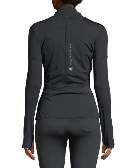 Performance Essential Mid-Layer Jacket, Black