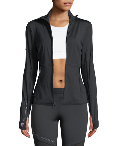 Performance Essential Mid-Layer Jacket, Black