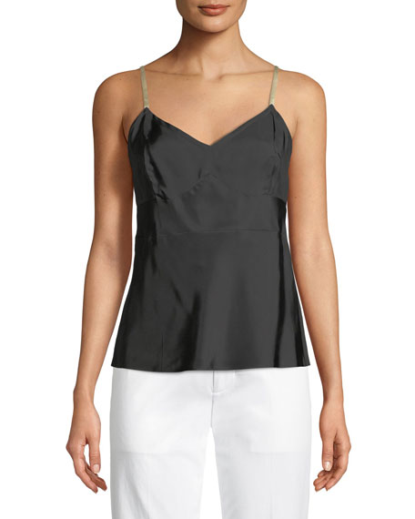 Helmut Lang Compact Viscose Camisole