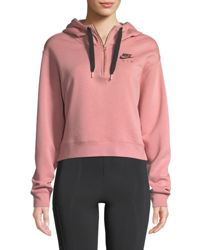 Air Half-Zip Fleece Hoodie