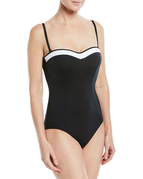 Classique Bandeau One-Piece Swimsuit
