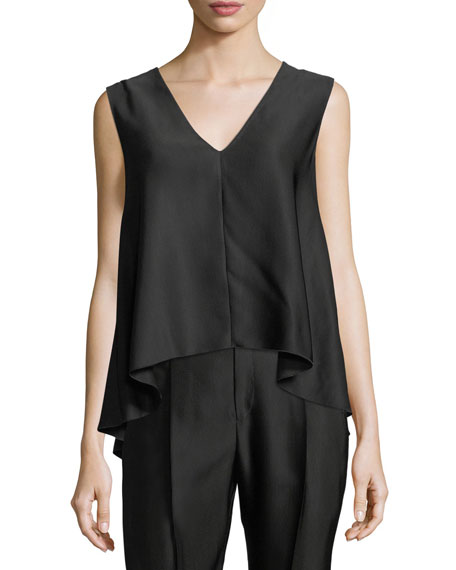 Cannette V-Neck Sleeveless Top