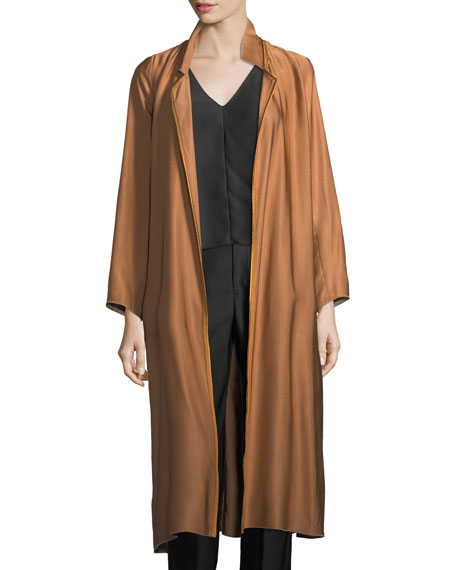 Giada Forte Cannette Oversized Dust Coat