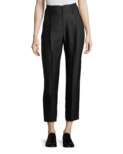 Cannette Pants w/ Center Pleats