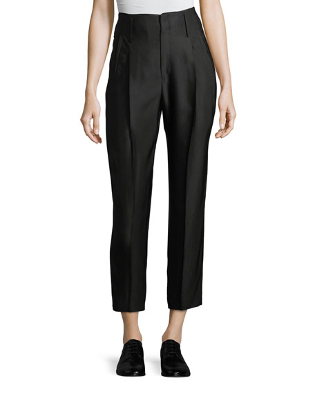Giada Forte Cannette Pants w/ Center Pleats